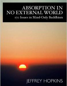Absorption in No External World: 170 Issues in Mind-Only Buddhism