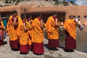 Drepung Loseling Monks Water Blessing – Ojo Caliente, New Mexico 2016