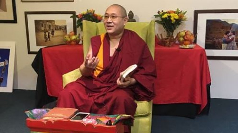 Kehnpo Thubten Gonphel –  Three Visons for a Happy Life